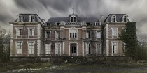 An abandoned manor house  Photographed by Arnaud Chassagne