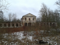 An abandoned manor in Prnu Estonia