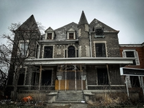 An abandoned mansion that was turned into a nursing home Closing its doors I believe  years ago