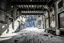An Abandoned Mill in Minneapolis Minnesota