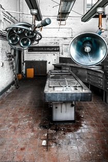 An Abandoned Morgue in the United States