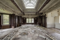An abandoned orphanage somewhere in the UK  by Picturwall