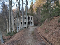 An abandoned sanatorium in the mountain overlooking the city of Zagreb Built in  it also served as a field hospital in WWII Allegedly its haunted by the executed soldiers