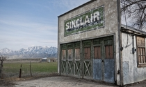 An abandoned Sinclair station in Elberta UT Photo BryonDavis