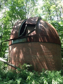 An abandoned space observatory near Bloomington Indiana full album in comments
