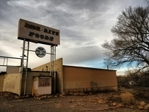 An Abandoned Supermarket in Grants New Mexico USA
