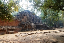 An Abandoned temple near Siem Reap Cambodia