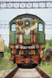 An abandoned train naar the City of Pripyat I am truly speechless after visiting the exclusion zone in Chernobyl