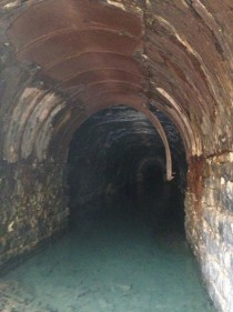 An abandoned train tunnel near my house Catskills NY