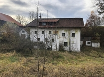 An Abandoned watermill in my village in Austria