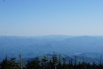 An absolutely breathtaking view Taken atop Clingmans Dome - Great Smoky Mountains National Park NC