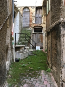 An alleyway in Abruzzo