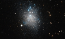 An archetypal dwarf galaxy - NGC  in the Messier  group