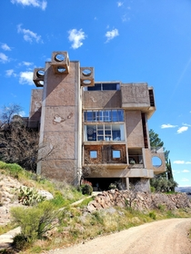 An Arcosanti building in northern Arizona Experimental sustainability community
