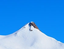 An attempt at Minimalism Unnamed peak Italian Alps