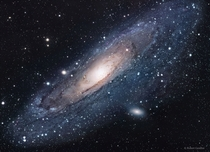 An awesome picture of Andromeda Galaxy the nearest major galaxy to our own Milky Way Galaxy