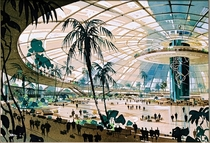 An early rendering of LAX -- didnt quite turn out this way