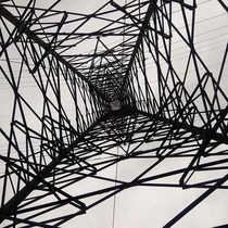 An Electricity Tower from beneath