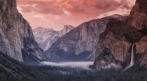 An evening at Yosemite