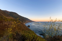 An Evening in Big Sur CA