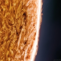 An extreme close-up of the Sun  the most detailed picture of a star Ive ever taken