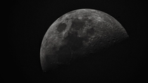An image of the Moon I took last Saturday during International Observe The Moon Night  Argentina