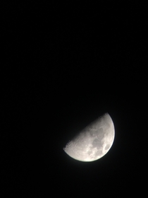 An image of the moon that I took yesterday