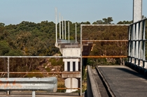 An incomplete railway viaduct across the Nepean River Part of the Maldon - Dombarton railway link which was cancelled by the state government during construction in  km south of Sydney Australia Photo by Highranger on Flickr