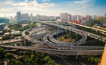 An Interchange in Shanghai China