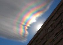An Iridescent Cloud Over Colorado  x