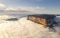 An Island in the Clouds Mount Roraima Venezuela -