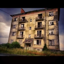 An old abandoned building somewhere in Auvergne center of France