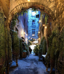 An old alley in Montreal