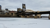 An old bridge in St Paul MN OC
