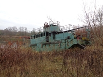 An old dredger