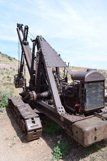 An old excavator
