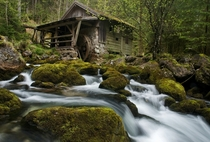 An old mill just south of Salzburg Austria  by Guenther Reissner
