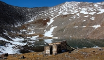An Old Miners Shack at Upper Crystal Lake CO