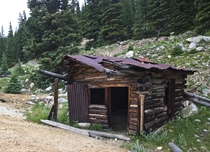 An Old Miners Shack near Buena Vista CO
