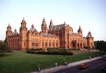 An old photo of Kelvingrove Art Gallery amp Museum - Glasgow Scotland