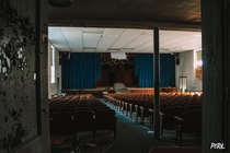 An old Theatre inside a school