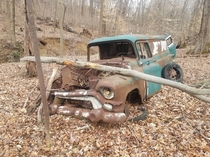 An old van truck wagon Photo taken by me in Upper Marlboro MD today