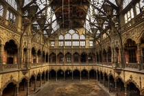 An ornate disused hall  Photographed by Darkman
