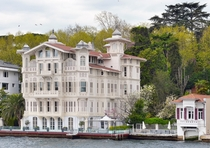 An Ottoman era mansion along the Bosphorus in Istanbul