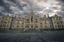 An overcast day at an abandoned asylum  Photographed by Mark Taken-by-Me