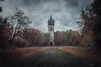 An overcast day at Miranda Castle Belgium  Photographed by Inlou