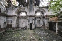 An Overgrown Chapel  Photographed by MatDur