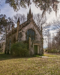 An s Gothic-style chapel in Mississippi ocx