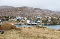 An Tairbeart Tarbert main settlement of Isle of Harris - Outer Hebrides Scotland