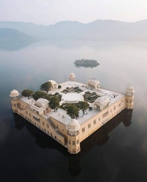 An th century marvel Jal Mahal Water Palace Rajasthan India